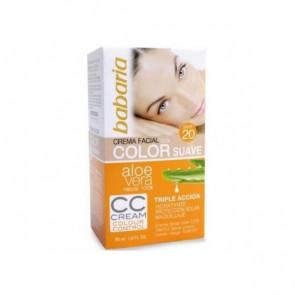 Babaria ALOE Tinted Facial Cream SPF 20 50 ml